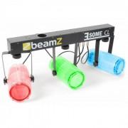 Beamz 3 Some CL LED Juego de Luces 5 piezas Barra T 171-RGBW-LED transparente (Sky-153.740)