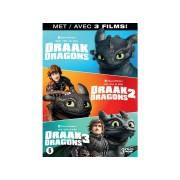 Hoe Tem Je Een Draak 1-3 - DVD