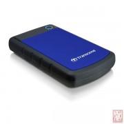 "2.5"" 2TB Transcend StoreJet 25H3B, External HDD, Anti-shock, USB3.0 (TS2TSJ25H3B)"