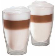 Set pahare sticla Latte-Macchiato 420 ml 2 bucati/set Tchibo