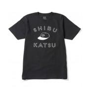 とんかつDJアゲ太郎×JUNRedブラックライトTシャツ SHIBUYA PORK CUTLET