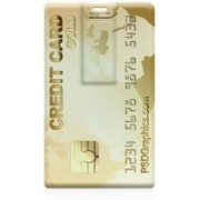 CRAZYINK Gold Card 32 GB Pen Drive(Multicolor)