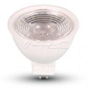LED Spotlight - 7W MR16 12V Plastic 6000K