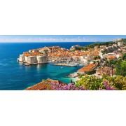 Puzzle Castorland Panoramic - Dubrovnik Croatia, 600 Piese