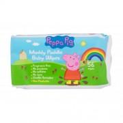Peppa Pig Peppa Baby Wipes chusteczki oczyszczające 56 szt dla dzieci