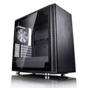Fractal Design Define Mini C TG Fekete ablakos - FD-CA-DEF-MINI-C-BK-TG