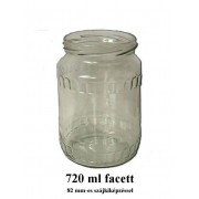 Facett 720ml - es befőttes üveg