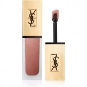 Yves Saint Laurent Tatouage Couture The Metallics Flüssig-Lippenstift Metallic Farbton 104 Rose Gold Riot 6 ml