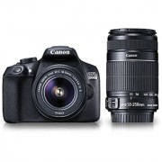 Canon EOS 1300D DSLR Camera (with EF-S 18 - 55 mm IS II EF-S 55 - 250 mm IS II)