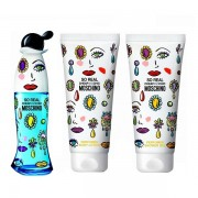 MOSCHINO SET CADOU SO REAL 50ml Apa de Toaleta + 100ml Lotiune de Corp + 100ml Gel de Dus, Femei 50 ml