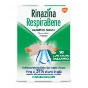 Glaxosmithkline C.Health.Spa Rinazina Respirabene Balsamici 10 Cerotti Nasali