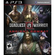 Deadliest Warrior: Ancient Combat by 345 Games - PlayStation 3 (ESRB Rating: Mature)