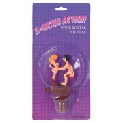 X-rated Action Wine Bottle Stopper