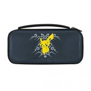 PDP Switch Pokemon Pikachu Element Deluxe Travel Case for Console and Games by PDP, 500-093 Pikachu Element Edition