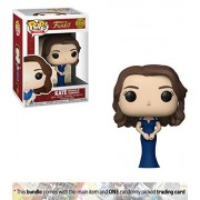 Kate [Duchess of Cambridge]: Funko POP! Royals Vinyl Figure + 1 Royal Family Themed Trading Card Bundle [#005]