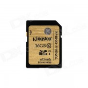 Kingston ultimo SDHC 16GB UHS-I Clase 10 Leido: 90MB / s SDA10 / 16GB