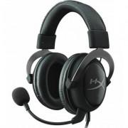 Геймърски слушалки с микрофон, hyperx cloud ii gunmetal, kin-head-khx-hscp-gm