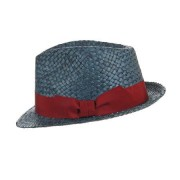 HUTTER cappello trilby in paglia naturale da donna e uomo di Hutter