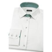 Bílá dámská košile s dlouhým rukávem Avantgard 721-0108-38