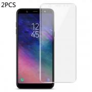 2-pack 0.15mm Full skärmsskydd Samsung Galaxy A6 Plus -2018