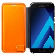 Husa Flip Neon Samsung Galaxy A5 (2017) A520 EF-FA520PBEGWW Originala In Blister Neagra Orange