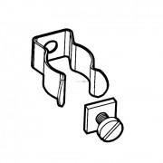 Stucchi T5 fénycső tartó billincs, csavarozható 36/CVD