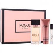 Rihanna Rogue lote de regalo III eau de parfum 125 ml + eau de parfum 6 ml + leche corporal 90 ml