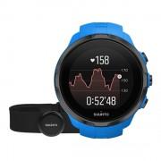 Bratara Fitness Suunto Spartan Sport HR, Waterproof, Pedometru, Monitorizare puls, Activitati sportive (Albastru)