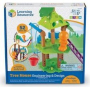 Joc Learning Resources Set STEM Casuta din copac