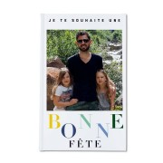 YourSurprise Carnet personnalisé - Fête des Pères