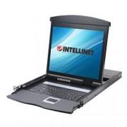 Intellinet Console KVM USB/PS2 con LCD 17'' da Rack 19'' Dual Rail