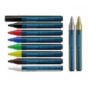 Marker cu vopsea 1-3mm, Schneider Maxx 270 rou