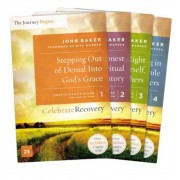 Celebrate Recovery Updated Participant's Guide Set, Volumes 1-4: A Recovery Program Based on Eight Principles from the Beatitudes, Paperback