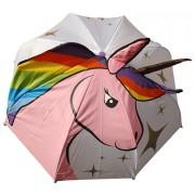 Blooming Brollies Umbrelă de ejecție pentru copii Unicorn Umbrella For Kids