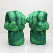 Incredible Huge The Avengers Alliance Hulk gloves Smash Hands Soft Plush Glove 26cm