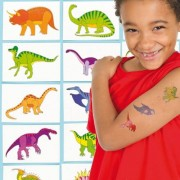 Baker Ross Dinosaur Tattoos (Pack of 48)