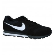 Nike MD Runner Lage Sneakers Zwart