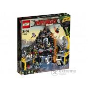 LEGO® Ninjago Vizuina lui Garmadon din Vulcan 70631