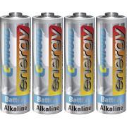 Set 4 baterii alcaline AA, 1,5 V, Conrad energy