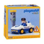 Vintage Playmobil Police Car #6709 (1992)