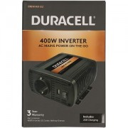 Duracell 400W Power Inverter with Dual AC & USB (DRINV40-EU)