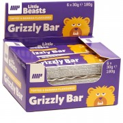 Myprotein Little Beasts Grizzly Bar - Box of 6 - 6 x 30gBars - Box - Toffee & Banana