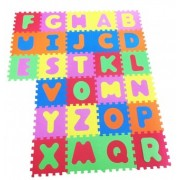 Covor puzzle din spuma Copii Alphabet 26 piese