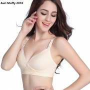 Auri Muffy 2016 Breastfeeding bra pregnant women underwear maternity nursing bra wire free underwear bra cup BC