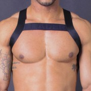 Leader Barcelona X Back Bar Harness Black
