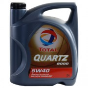 Total QUARTZ 9000 5W-40 5 Litre Can
