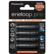 Panasonic baterije eneloop pro AA/4B** (BK-3HCDE/4BE) 18682