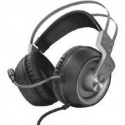 Trust GXT 430 Ironn Gaming mikrofonos fejhallgató - fekete