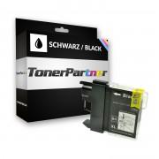 Brother Compatibile con DCP-130 C Cartuccia stampante (LC-1000 BK) nero, 500 pagine, 0.74 cent per pagina, Contenuto: 22 ml
