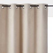 La Redoute Interieurs Cortinado em camurcina, com ilhós, KALAbege- 180 x 135 cm